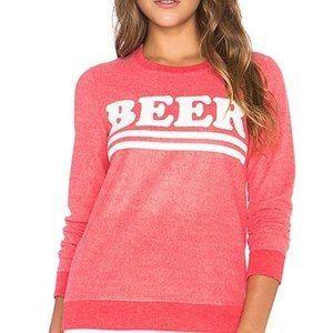 NWT CHASER BEER Graphic Sweatshirt Small